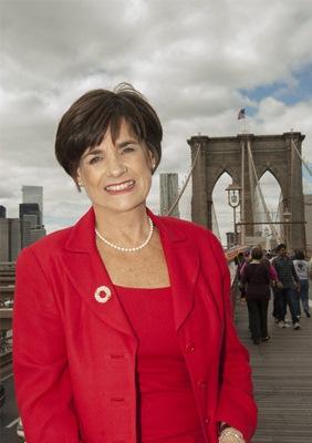 Judie Brooklyn Bridge Cropped Photo - Resized