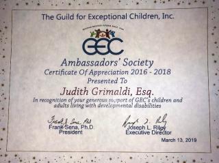 GEC Certificate 2