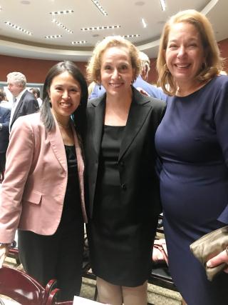 Pauline with 2 women
