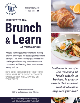 Fontbonne Brunch & Learn