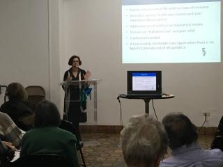 Judie speaking 2