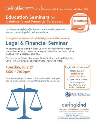 Caringkind Legal&Financial Webinar FlyerJuly2020_v2